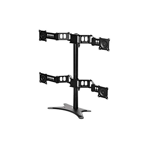 1 - Quad Monitor Flex Stand by Doublesight Displays