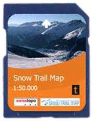 Satmap GPS System Karte 1:50000 Schweiz: Schweizer Schneeschuhtouren (Snow...