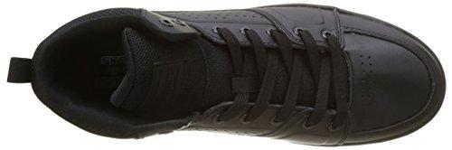 Uomo Nero Scarpe Skechers Black Running Downtown wHgHqp8