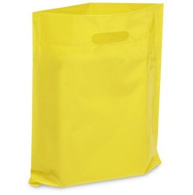 NEW - Extra Thick 1.5mil - 50 Glossy Merchandise Bags, Retail Shopping Bags, 12