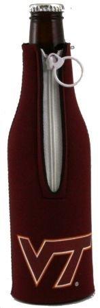 VIRGINIA TECH HOKIES BOTTLE SUIT KOOZIE COOLER (Tech Zipper Bottle Suit)