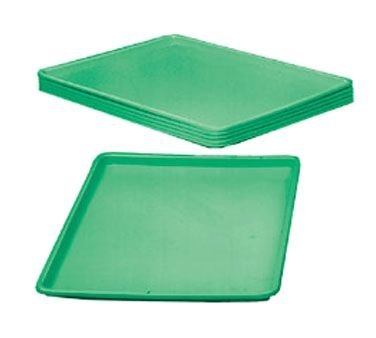 Winholt WHP-1826GABS Platters and Trays, 18'' x 26'' x 1'' Size, Green by Winholt
