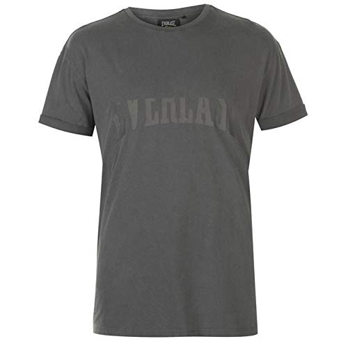 Everlast Hombre Fade Camiseta Manga Corta Gris L: Amazon.es: Ropa ...