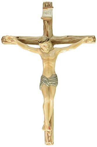 Jesus Ceramic (Cosmos 2039 Fine Porcelain Jesus on Cross Figurine, 8-1/2-Inch)