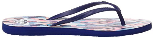 Bermuda Navy Black Tongs 5 Bleu 36 Print White Femme Roxy EU White 7Tqw4xZ7