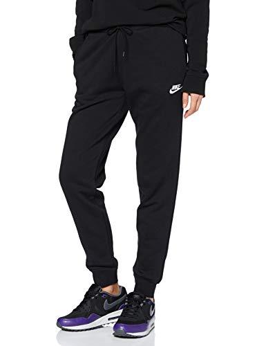 Nike Womens NSW ESSNTL Pant Regular Fleece Womens BV4095-010 Size L Black/White