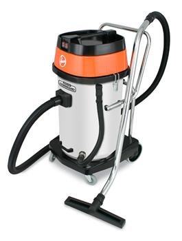 Hoover CH84000 Ground Command 20-Gallon Poly Industrial Wet/Dry Vacuum with Cloth Filter