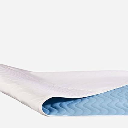 Colchón contra incontinencia ((Protección contra la humedad Cojín para colchones Heridos 75 x 90