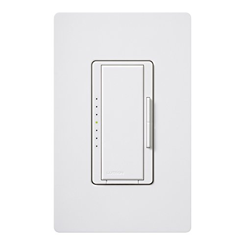 Lutron Maestro 1.25 -Amp White Digital Dimmer ()