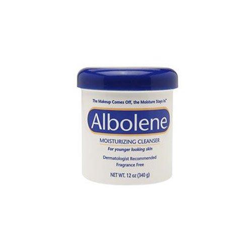 Albolene Moisturizing Cleanser, Fragrance Free, 12 oz - 2pc