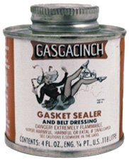 Gasgacinch 5043 Black Gasket Sealer by Gasgacinch