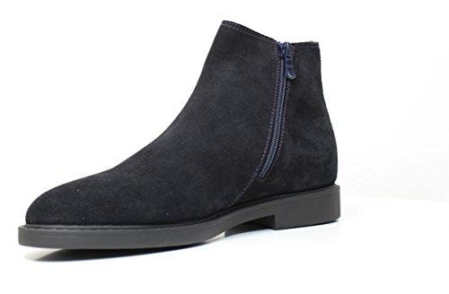 NERO GIARDINI A402851U 200 Slip-on Schuhe in blue suede A4 02851 U