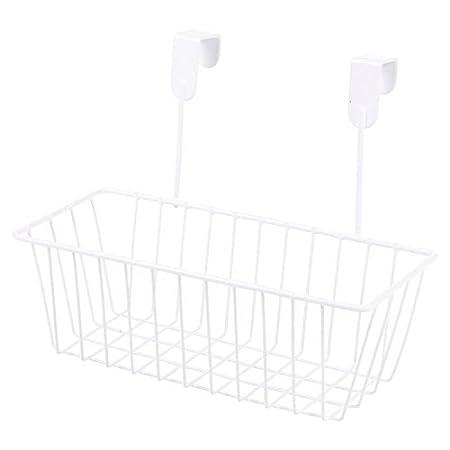 2x over Kitchen cabinet Door ripiano portaoggetti da appendere portabottiglie organiser 1 Black & 1 White Basket EGT