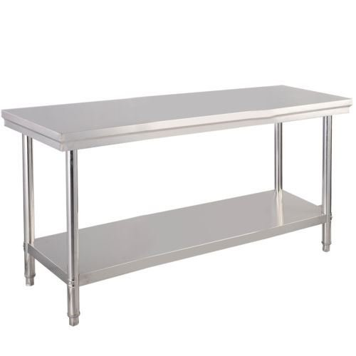 Stainless Steel Commercial Kitchen Work Food Prep Table - 24'' x 48'' by Balance World Inc
