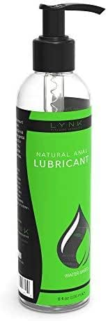 Lynk Pleasure Anal Lube Long Lasting Water Based 8 oz Sex Lube for Men, Women, and Couples | Paraben & Glycerin Free Intimate Personal Lubricant