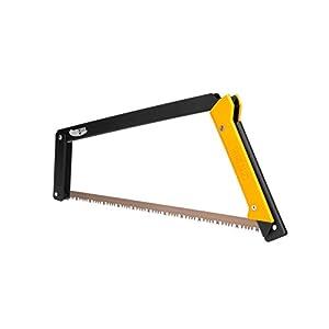 Agawa Canyon - BOREAL21 Saw - Black Frame, Yellow Handle, All-Purpose Blade
