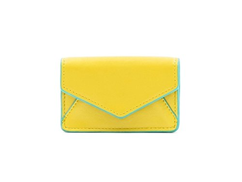 About Face Designs Bobbi Chicago Business Card Case Waist Pack, Yellow, One Size