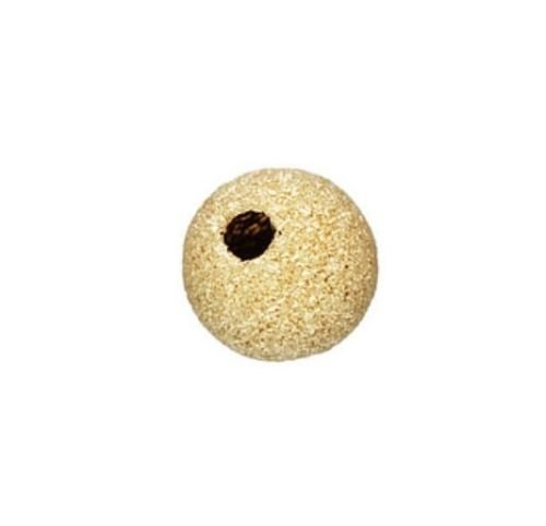(14k Gold Filled 6mm Stardust Spacer Beads)