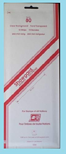 Showgard Strip Style Clear Stamp Mounts Size - Clear Stamp Mounts