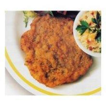 Boneless Breaded Pork Loin Chop - Pork Patty Fritter, 56 Pieces of 3 Ounce, 10.5 Pound - 1 each.
