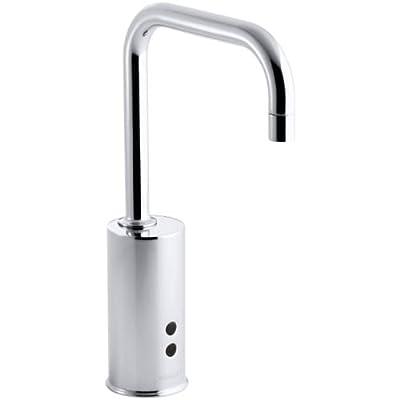 KOHLER Hybrid Gooseneck Touchless Deck-Mount Faucet