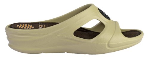 Senses Comfort - WOCK Professional Footwear - Compensated Heel; Impact Reduction; Super Light - Brown - Bege - UK : 4 ; EUR : 36 Beige di4ZpXA90