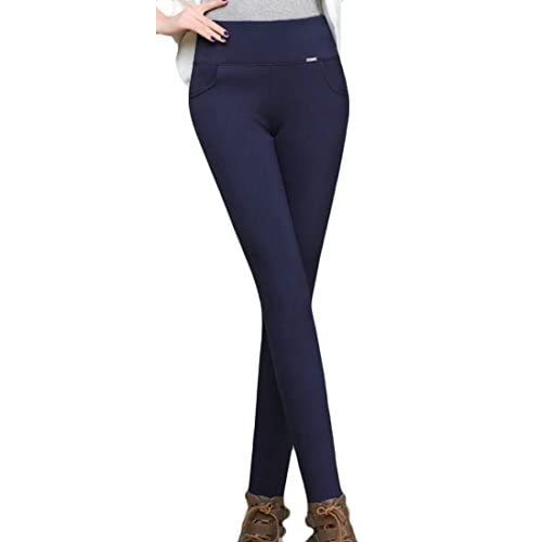 Cheap Esast Womens Autumn High Waist Solid Color Slim Fit Stretch Leggings hot sale