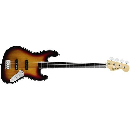 Squier by Fender Vintage Modified Fretless Jazz Bass - 3-Color Sunburst from Fender