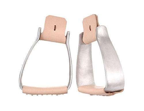 (Tough-1 Aluminum Angled Roper Stirrups)
