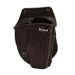 Fobus Evolution Paddle Holster Ruger SR22 Polymer Black