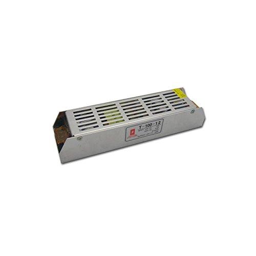 (LA) 220V a DC 12v 8,4A 100W Transformador de tensión Interruptor Profesional