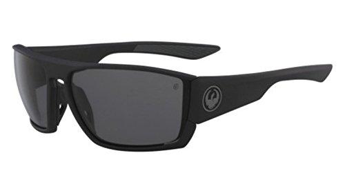 Sunglasses DRAGON DR CUTBACK H 2 O 003 MATTE BLACK H2O WITH SMOKE Polarized LENS