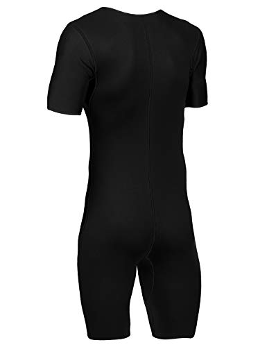 b5a96296ae217 FitsT4 Men s Sauna Suit MMA Neoprene Sweat Shirt Quick Weight Loss Slimming  Body Shaper for Fitness