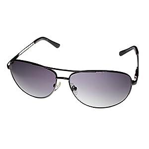 Kenneth Cole Reaction Kcr1069-O753 Men's Aviator Silver-Tone Sunglasses
