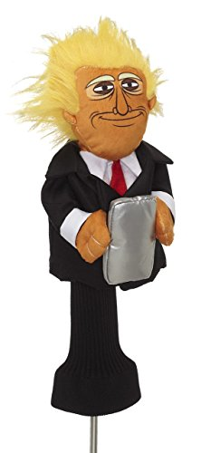 Donald Trump Golf Headcover by Creative Covers - Novelty Golf Headcover