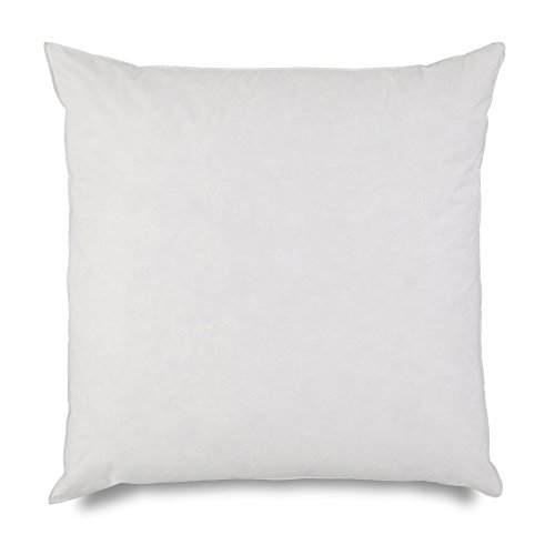 EUROPEAN PILLOW INSERT BY MARTEX - 26-inch Euro-Sized Square