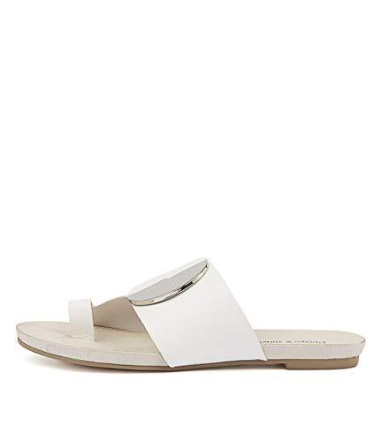 Flat Sandals JULIETTE amp; Summer Leather JADONS White Sandals Womens DJANGO pxSU0wIqx