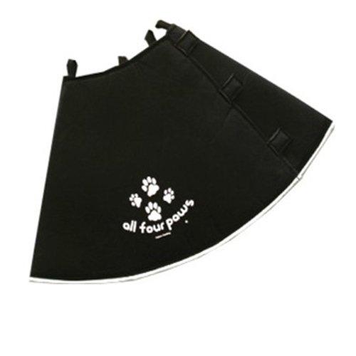 Comfy Cone Soft E-collar Medium-long Black 30 Cm