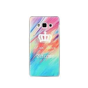 GDW Teléfono Móvil Samsung - Cobertor Posterior - Diseño Especial - para Samsung Galaxia A7 ( Multi-color , Plástico )