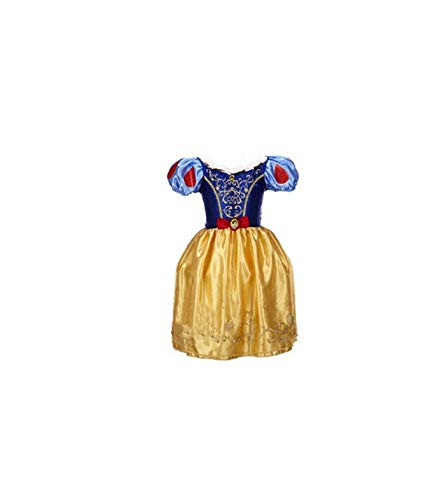(Girl Costume Cinderella Cosplay Party Dress Princess,As Picture5,4T)