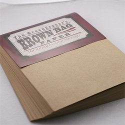 Brown Bag Paper - KRAFT - 8.5 x 11 - 28/70lb Text - 200 PK LEADER PAPER PRODUCTS 6262584