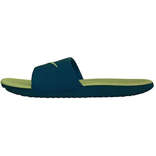 Nike Men's Kawa Slide Athletic Sandal, Granite/Desert Sand, 12 D US