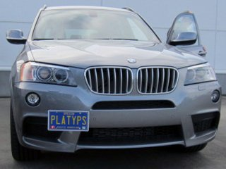 Made of Stainless Steel /& Aluminum CravenSpeed The Platypus License Plate Mount for BMW X4 Installs in Seconds Made in USA No Drilling 2015-2018