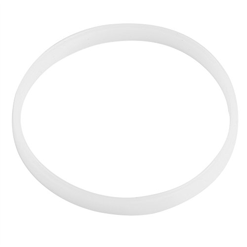 4PCS 10cm White Rubber Sealing O-ring Gasket Replacement Parts for Ninja Juicer Blender Replacement Seals ()
