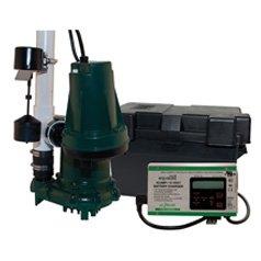 Zoeller Aquanot 508-0007 12 Volt backup sump pump WITH M98 p