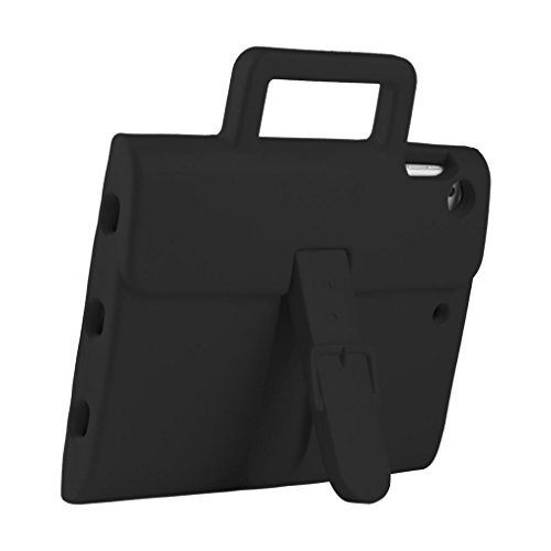Super Slim Leather Smart Cover for Apple iPad air2(black) - 6