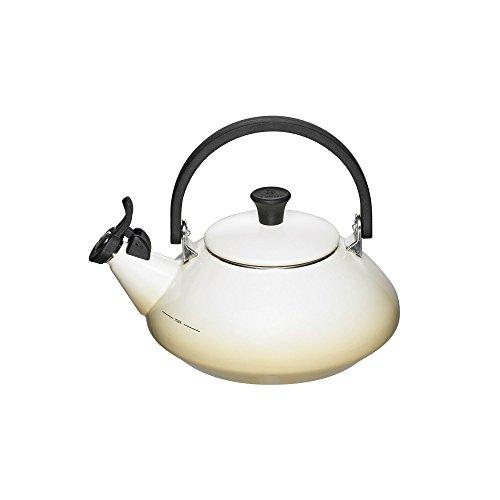 UPC 630870022187, Le Creuset Enamel-on-Steel Zen 1-2/3-Quart Teakettle, Dune