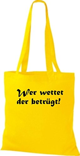Shirtstown Algodón Amarillo Mujer Tela Para De Bolso qrR7qO