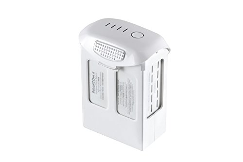 DJI High Capacity Phantom 4 Series P4-Intelligent Flight Battery, White (CP.PT.000601)