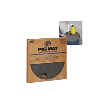 Absorbent Barrel Top Mat 3 Gallon PK20